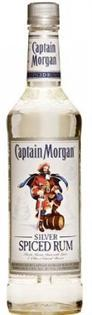Captain Morgan Rum Silver Spiced 1.00l
